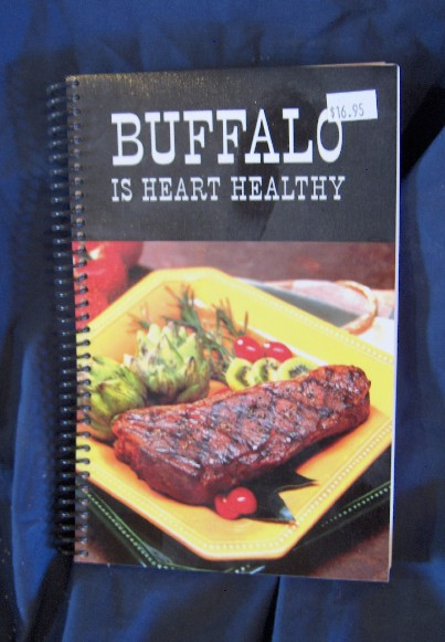 Big Buffalo meat is heart healthy