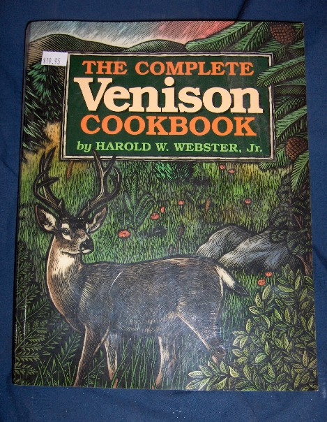 Big Complete Venison Cookbooks